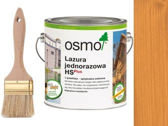 OSMO Lazura Jednorazowa 9221 SOSNA 2,5L + GRATIS