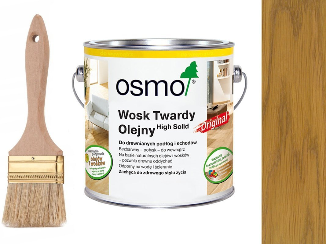 OSMO 3032 wosk twardy olej 10 L JEDWABISTY POŁYSK