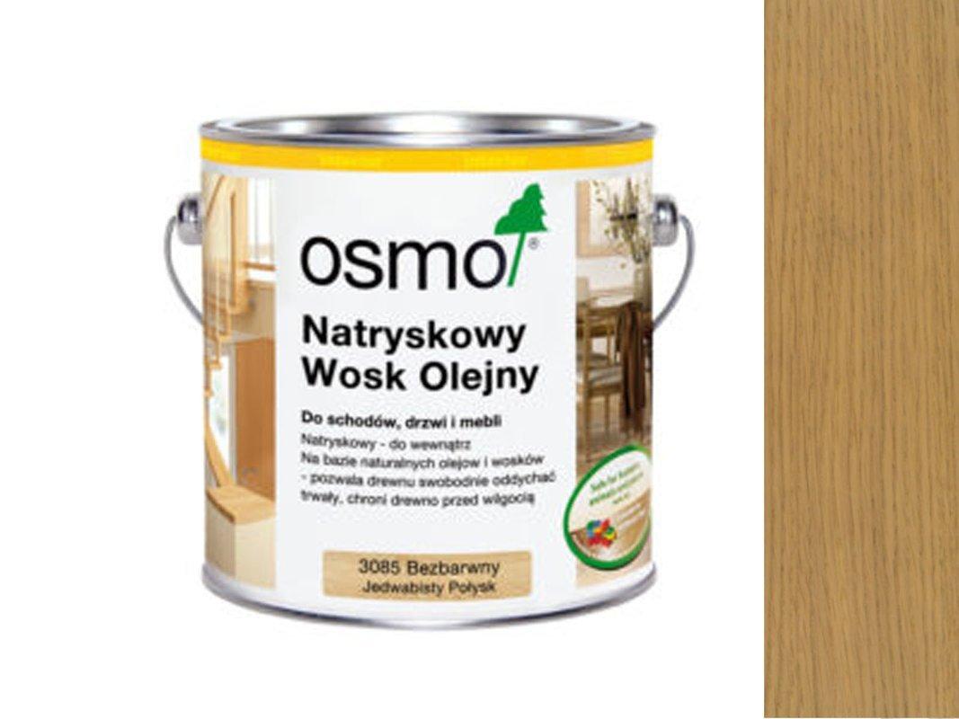 OSMO 3084 WOSK OLEJNY BEZBARWNY MATOWY 10L