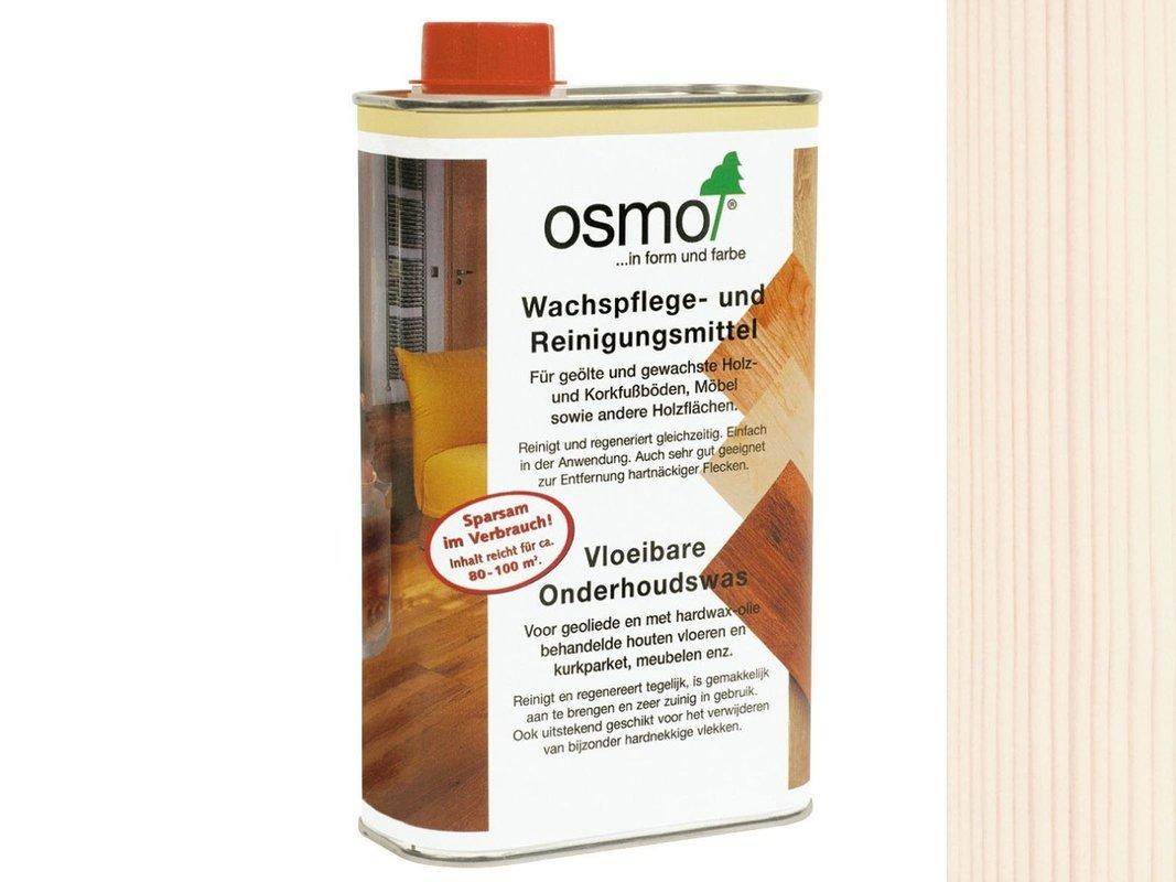 OSMO 3087 środek do czyszczenia wosku BIAŁY 0.5L