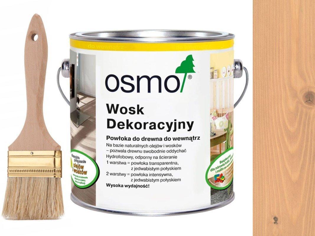 OSMO 3102 wosk dekoracyjny BUK LEKKO PARZONY 25L