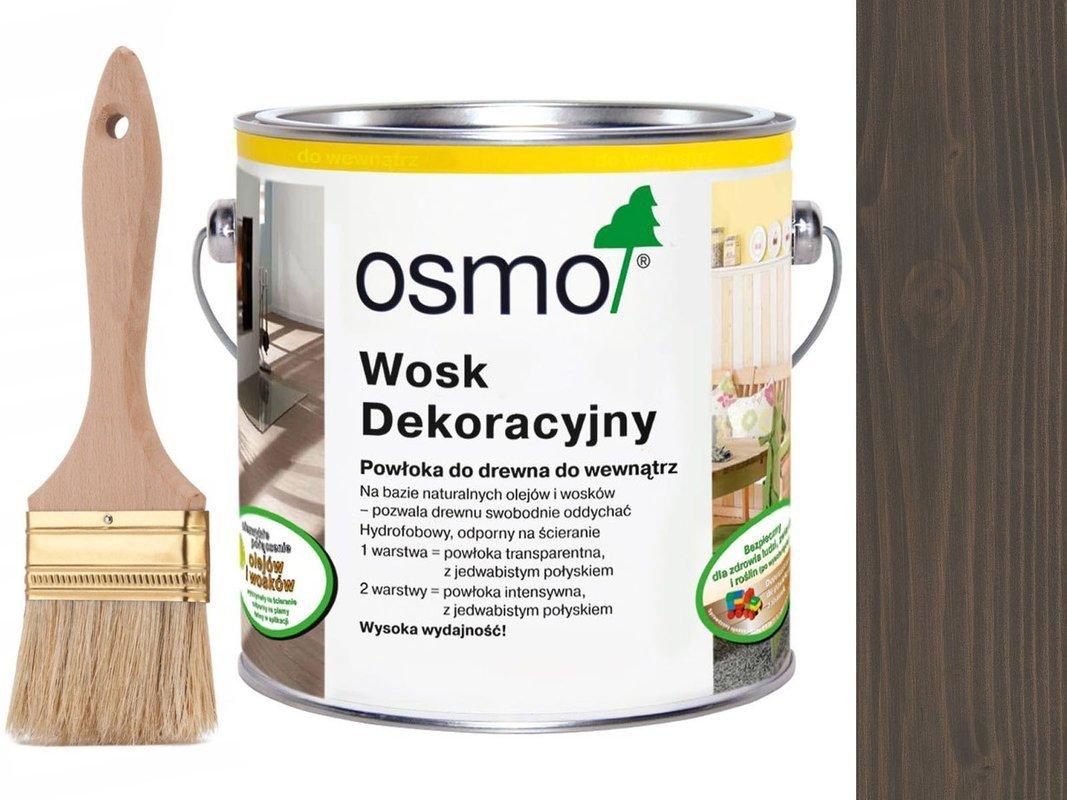 OSMO 3118 wosk dekoracyjny GRANITOWY SZARY 2,5L