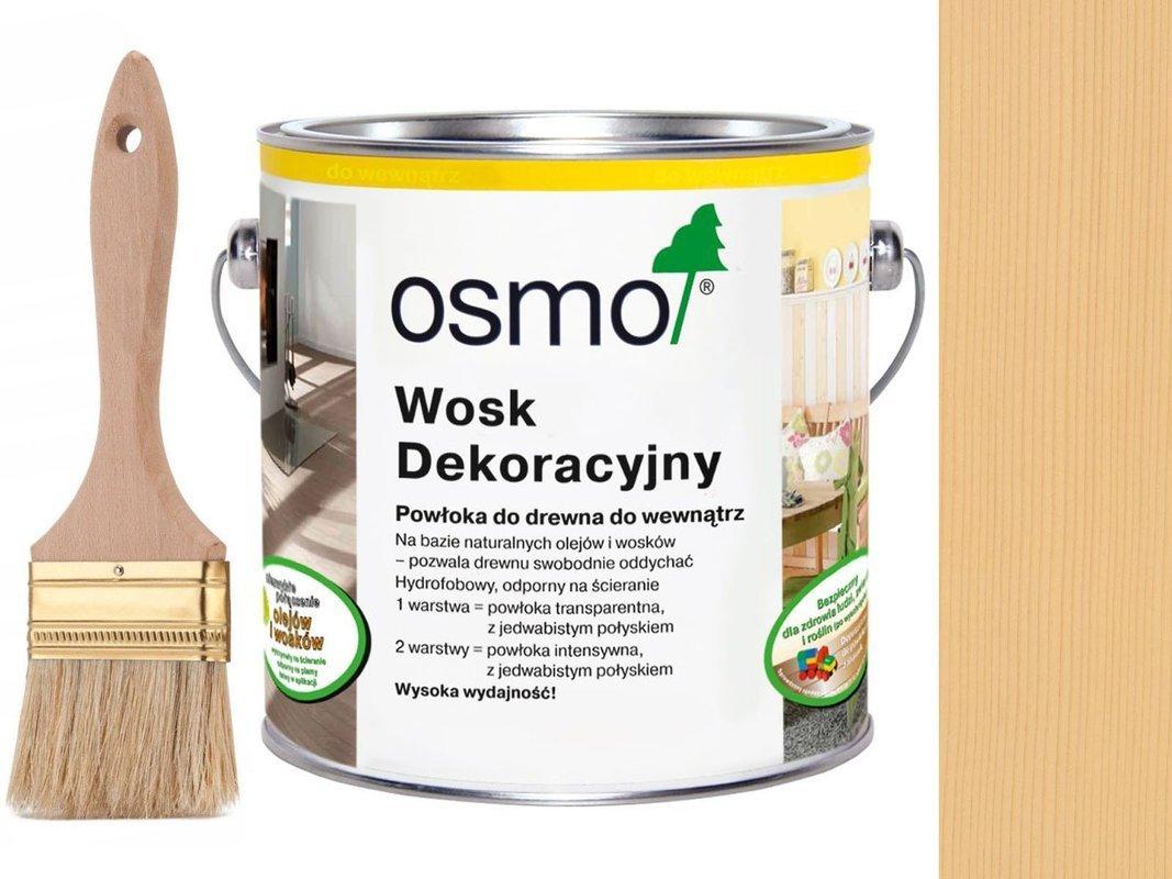 OSMO 3136 wosk dekoracyjny KOLOR BRZOZA 2,5L