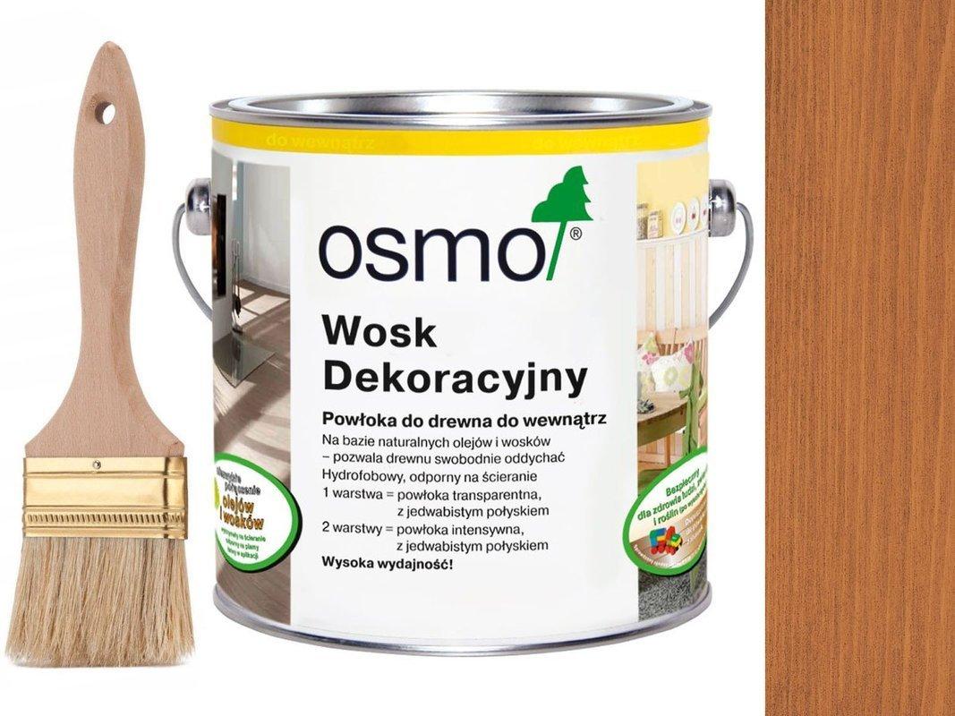 OSMO 3137 wosk dekoracyjny KOLOR WISNIA 0,75L