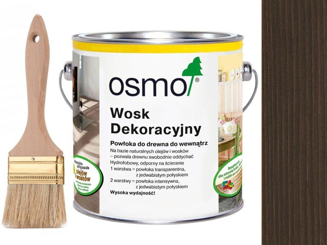 OSMO 3161 wosk dekoracyjny KOLOR HEBAN 0,75L
