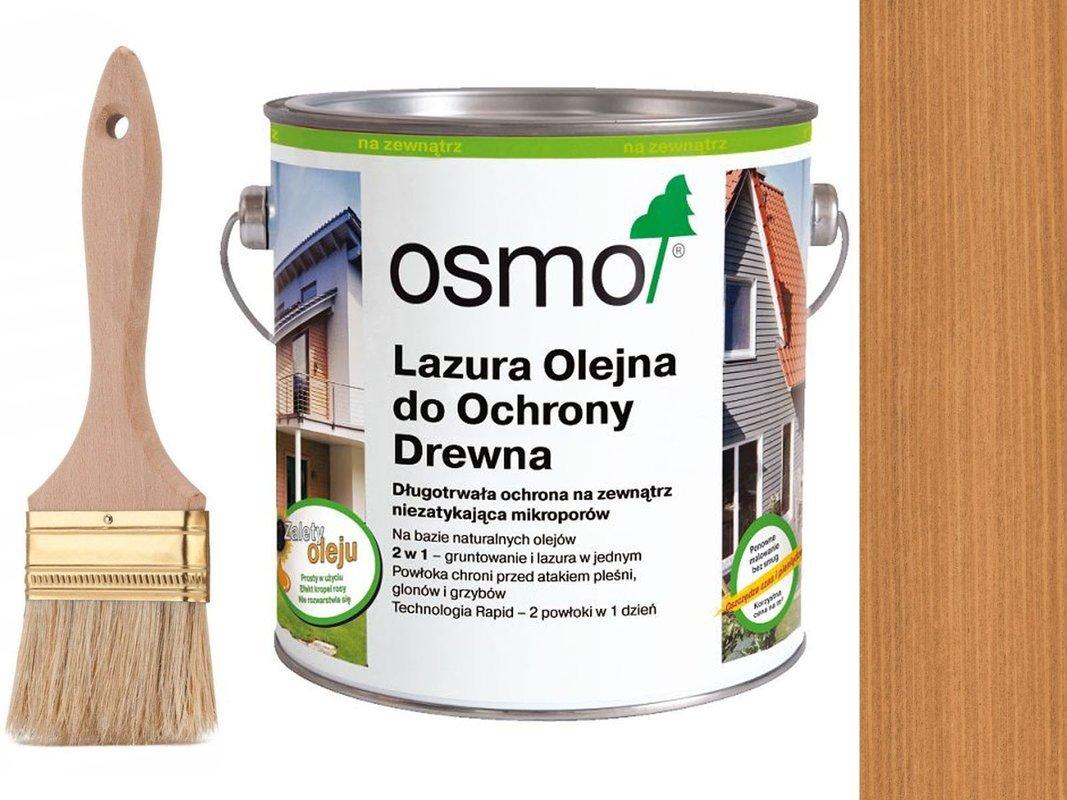 OSMO 702 Lazura Ochronna do drewna MODRZEW 750ml