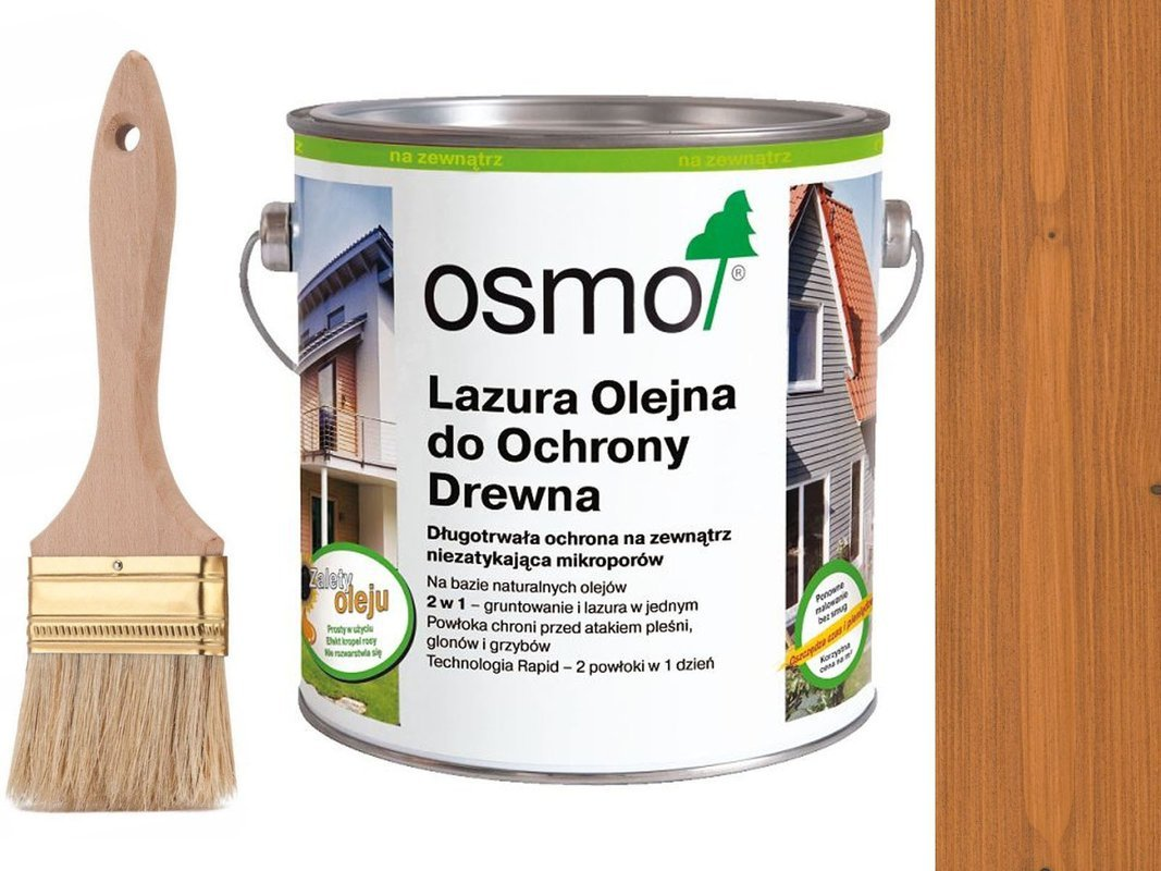 OSMO 728 Lazura Ochronna do drewna CEDR 25L