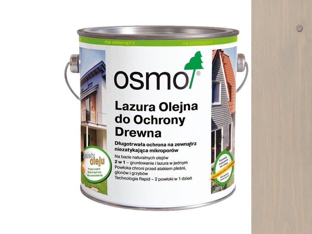 OSMO 906 Lazura Ochronna do drewna SZARY 0,125L