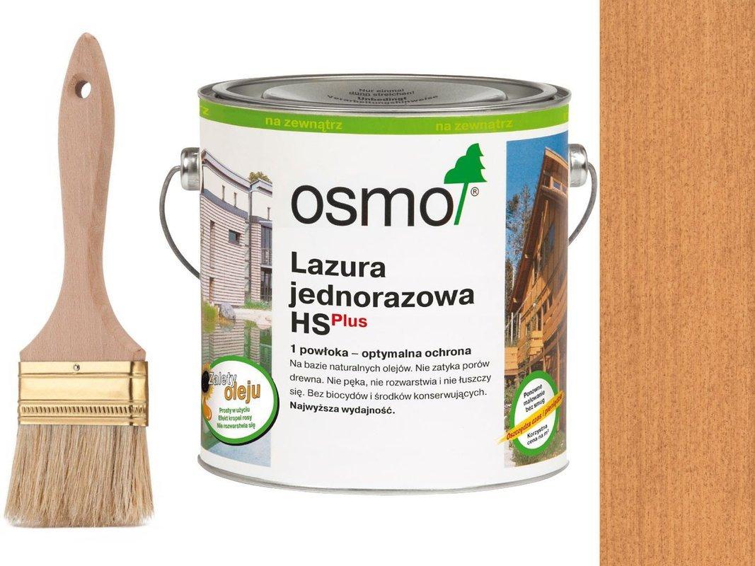 OSMO Lazura Jednorazowa 9236 MODRZEW 25L GRATIS