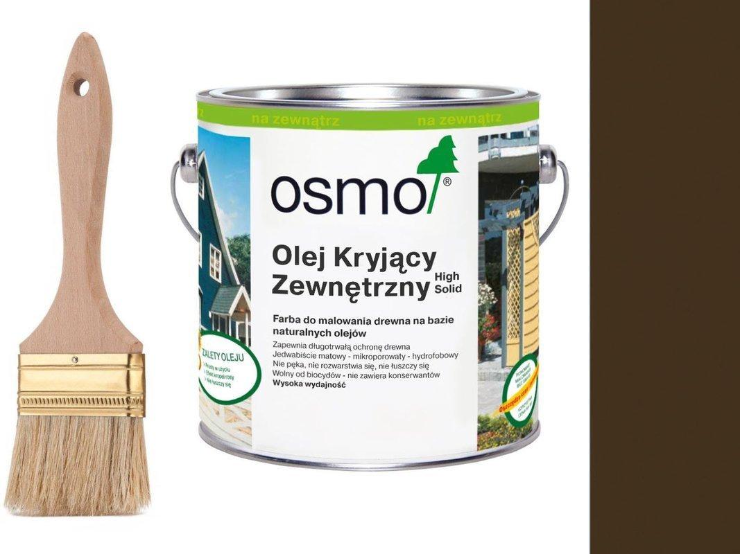 OSMO Olej Kryjący 2606 BRĄZ ŚREDNI 0,75L + GRATIS