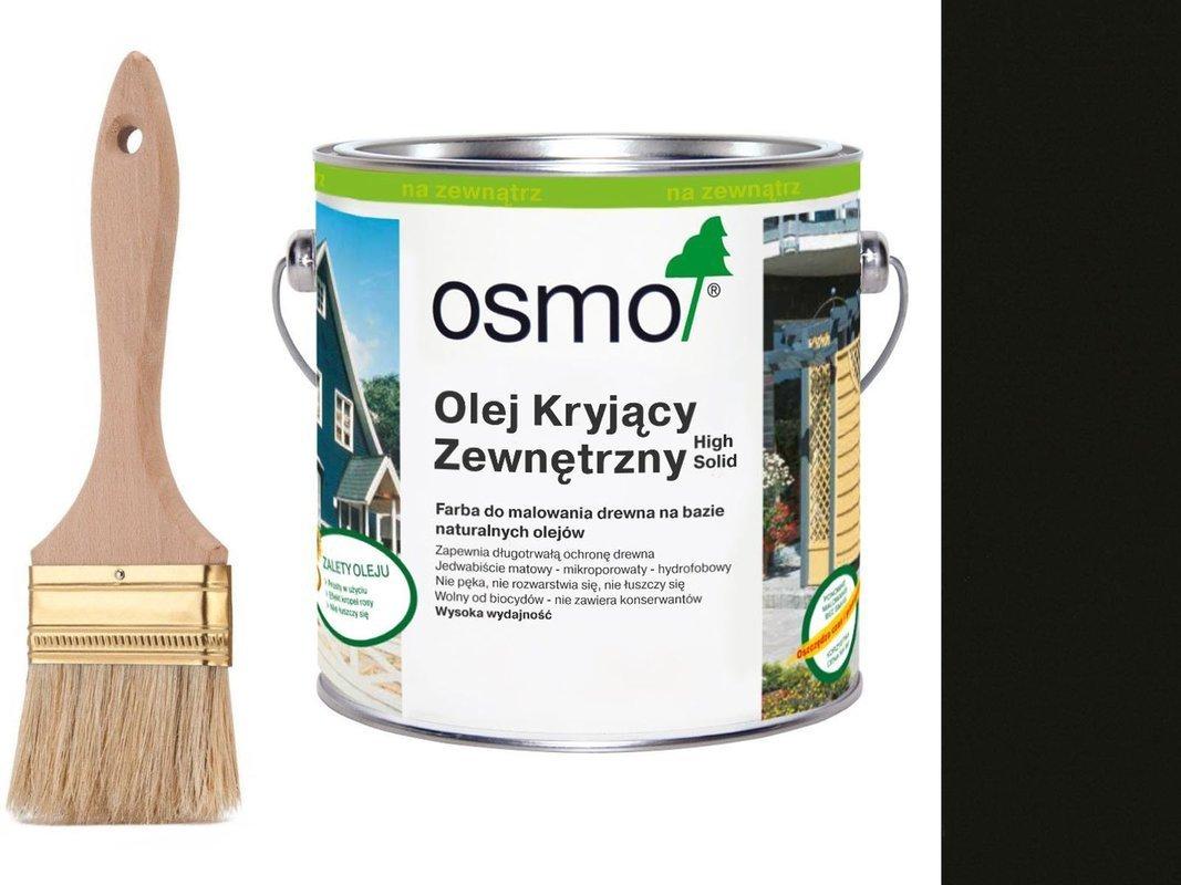 OSMO Olej Kryjący 2703 CIEMNY SZARY 25L + GRATIS