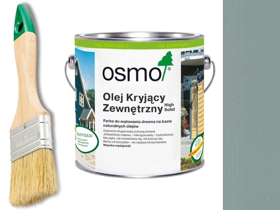OSMO Olej Kryjący 2742 BETONOWY 2,5L + GRATIS