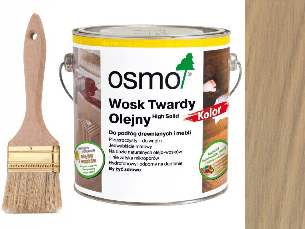 Osmo 3040 wosk twardy olejny olej wosk 25L BIAŁY