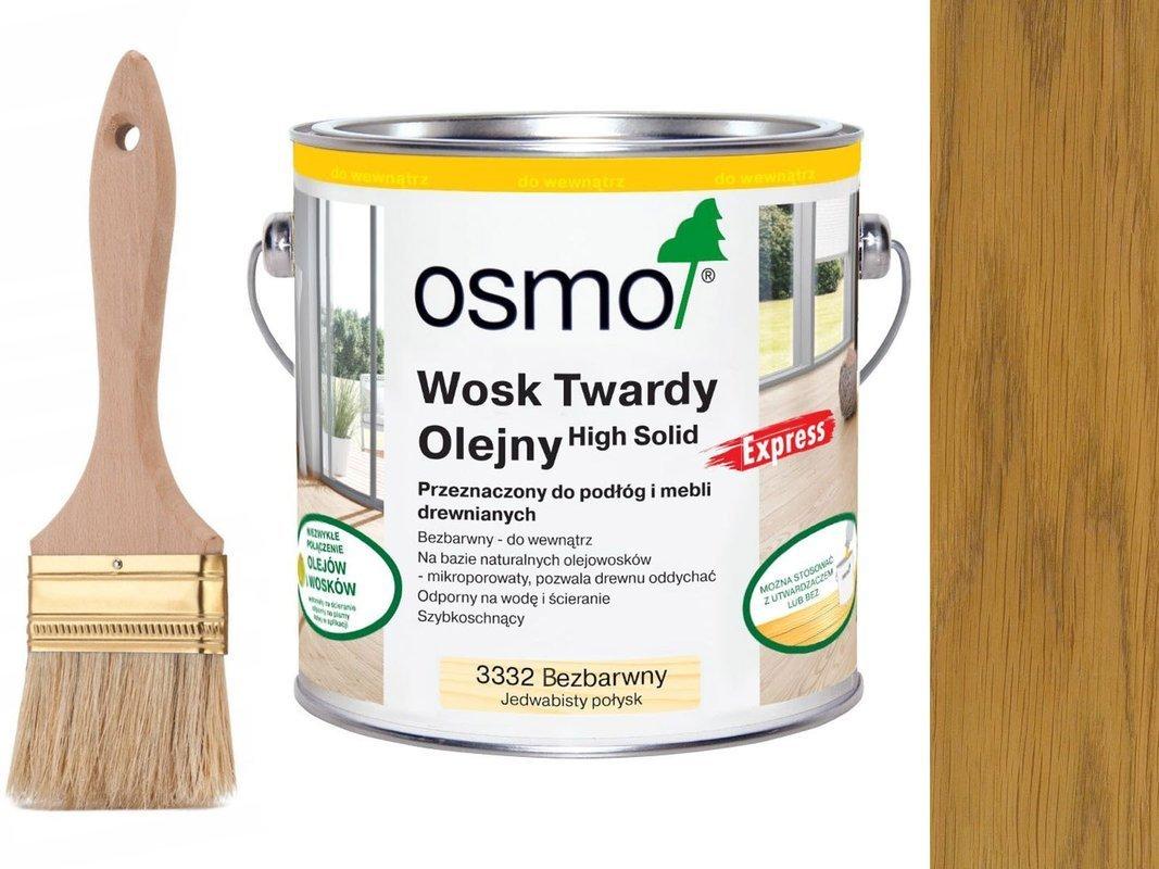 Osmo 3332 Wosk twardy olejny EXPRESS 2,5 L POŁYSK